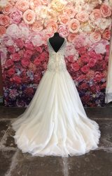Amanda Wyatt | Wedding Dress | Drop Waist | ST196H