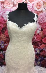 Enzoani | Wedding Dress | Fit to Flare | ST214H