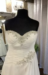 Stella York | Wedding Dress | Tea Length | LA52L