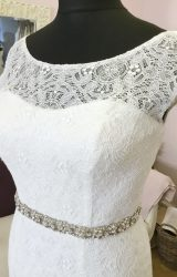 Catherine Parry | Wedding Dress | Fit to Flare | W642L