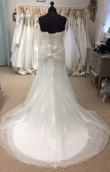 Phil Collins | Wedding Dress | Fit to Flare | LE245M