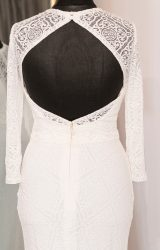 Lillian West | Wedding Dress | Fit to Flare | WH67C