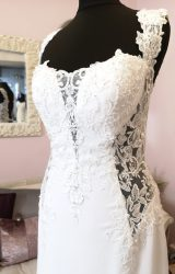 Rosa Couture | Wedding Dress | Fit to Flare | W660L