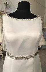 L Q Designs | Wedding Dress | Aline | M117S