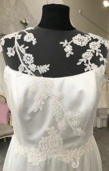 Sassi Holford | Wedding Dress | Column | M123