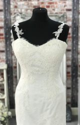 White Rose | Wedding Dress | Fit to Flare | CA125G