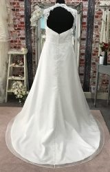 White Rose | Wedding Dress | Aline | CA127G