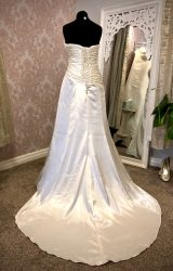 Maggie Sottero   Wedding Dress   Drop Waist   Y37E
