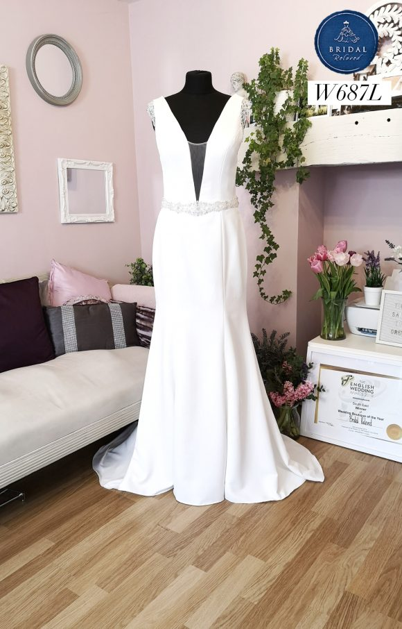 Private Label   Wedding Dress   Fit to Flare   W687L