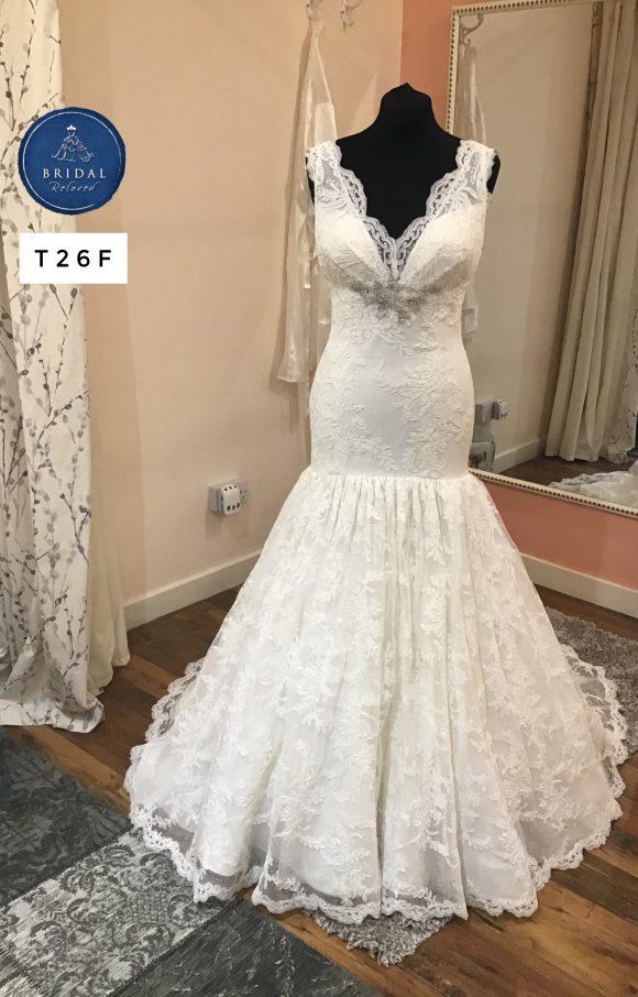 Watters   Wedding Dress   Fishtail   T26F