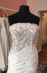 Ian Stuart | Wedding Dress | Drop Waist | T41