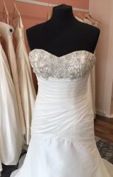 Benjamin Roberts | Wedding Dress | Drop Waist | T25F