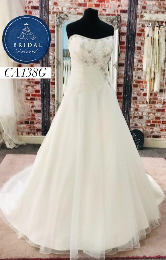 Wedding Collection   Wedding Dress   Aline   CA138G