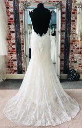 Claire Pettibone | Wedding Dress | Fit to Flare | CA141G