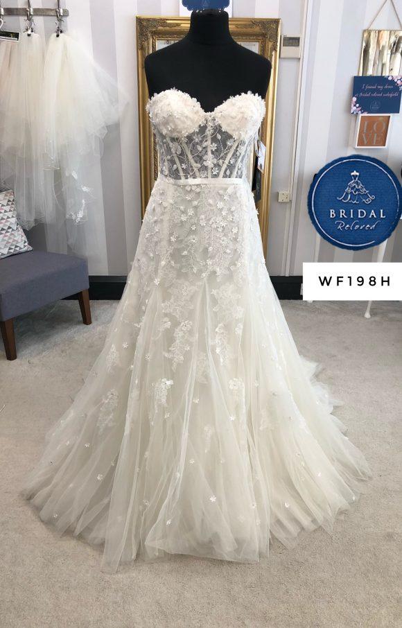 Randy Fenoli | Wedding Dress | Fit to Flare | WF198H