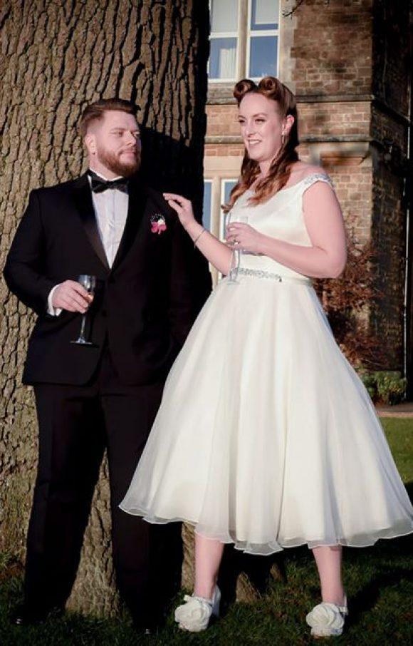 Brighton Belle | Wedding Dress | Tea Length | C1759