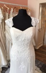 Madeline Isaac James   Wedding Dress   Fit to Flare   T68F