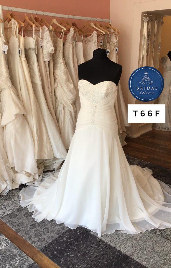 Morilee | Wedding Dress | Drop Waist | T66F