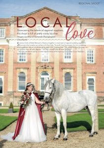 County Wedding Magazine – Local love – Winter Inspired Theme At the Stunning Crowcombe Court Somerset
