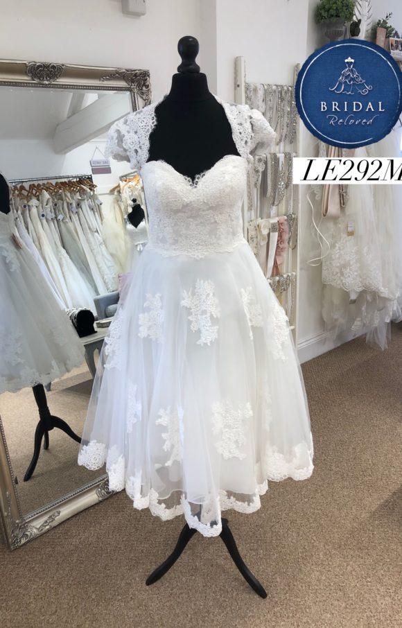 Rita Mae   Wedding Dress   Tea Length   LE292M