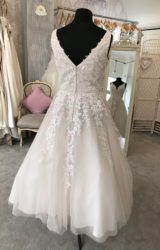 Alan Hannah | Wedding Dress | Tea Length | M140S