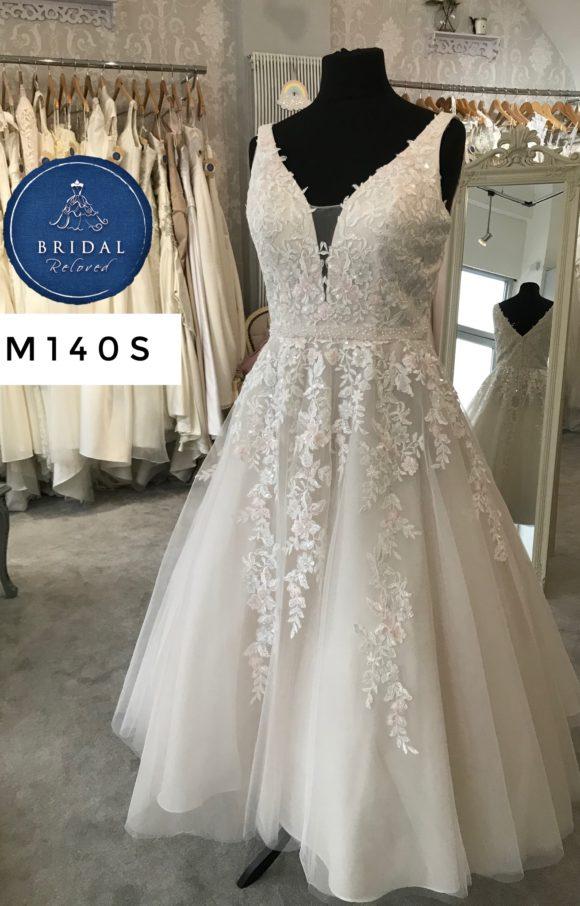 Alan Hannah   Wedding Dress   Tea Length   M140S