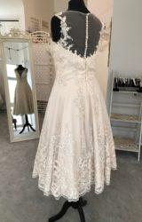 Alan Hannah | Wedding Dress | Tea Length | M141S