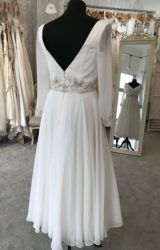 Alan Hannah | Wedding Dress | Tea Length | M142S