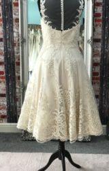 Rita Mae | Wedding Dress | Tea Length | CA155G