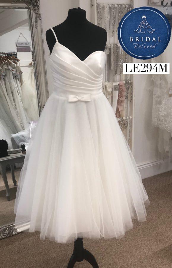 Rita Mae | Wedding Dress | Tea Length | LE294M