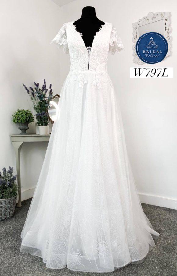 Rita Mae   Wedding Dress   Aline   W797L