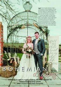 Essex Wedding Magazine – Bohemian Dreams
