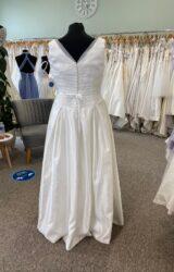 White Rose   Wedding Dress   Aline   D1091K