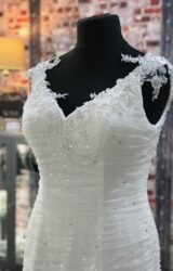 Mark Lesley   Wedding Dress   Drop Waist   CA175G