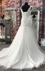 Mark Lesley | Wedding Dress | Drop Waist | CA175G