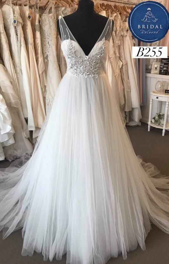 Bowen Dryden   Wedding Dress   Aline   B255