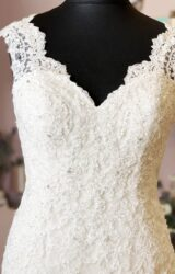 Catherine Parry | Wedding Dress | Fit to Flare | W840L