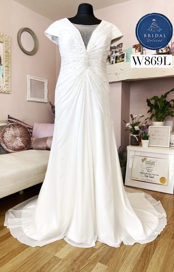 Sonsie | Wedding Dress | Fit to Flare | W869L