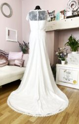 D'Zage | Wedding Dress | Fit to Flare | W861L