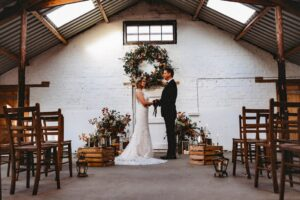 Brides Up North – Autumnal Florals In Unconventional Spaces