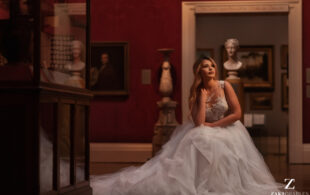 The English Wedding Blog – A unique and different bridal story: the Museum at Night