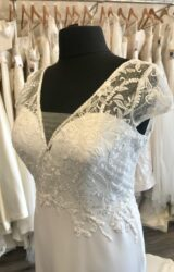 Terra Bridal | Wedding Dress | Fit to Flare | C190JL