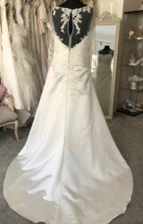D'Zage | Wedding Dress | Aline | M160S