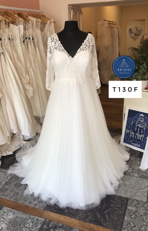 Terra Bridal   Wedding Dress   Aline   T130F