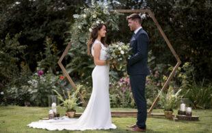 Minimalist Scandinavian Wedding Ideas With Cosy Vibes & Greenery