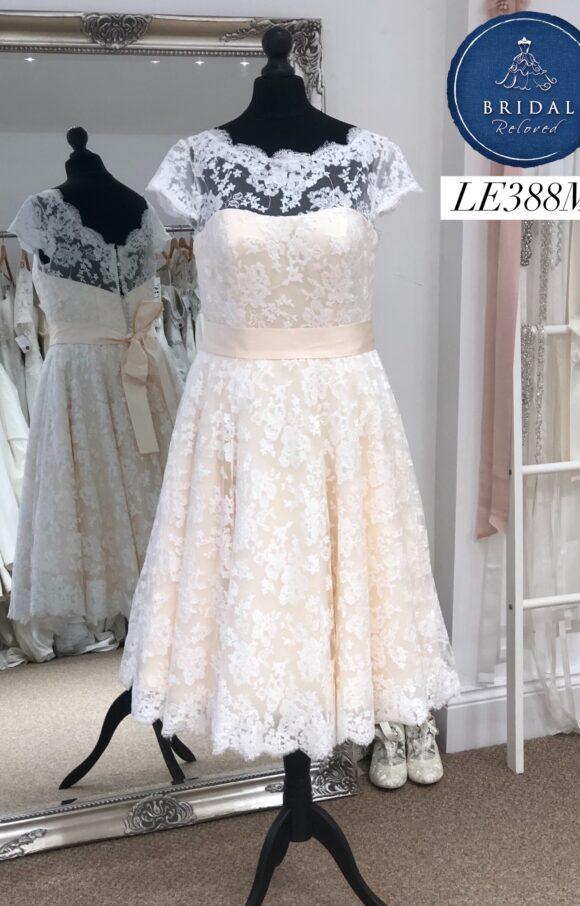 House of Mooshki | Wedding Dress | Tea Length | LE388M
