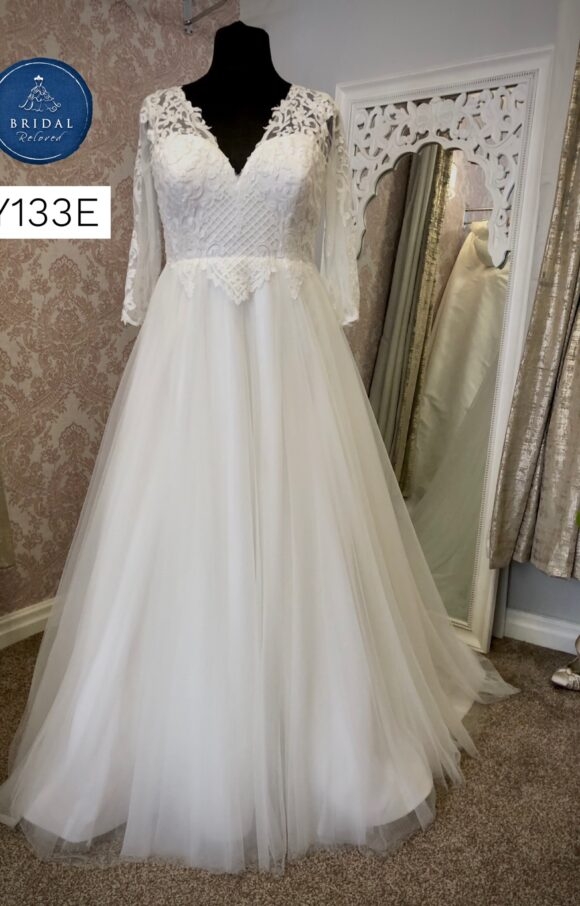Terra Bridal | Wedding Dress | Aline | Y133E