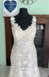 White Rose | Wedding Dress | Fit to Flare | SH180S