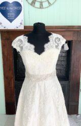 White Rose | Wedding Dress | Aline | SH173S