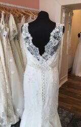 Stephanie Allin | Wedding Dress | Drop Waist | T165F